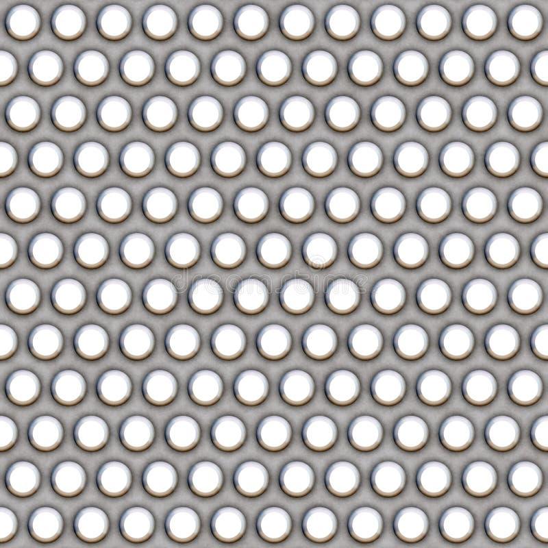 Reticolo della maglia del metallo illustrazione vettoriale
