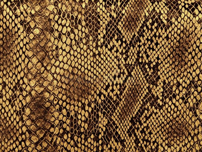 Reticolo della pelle di serpente fotografia stock