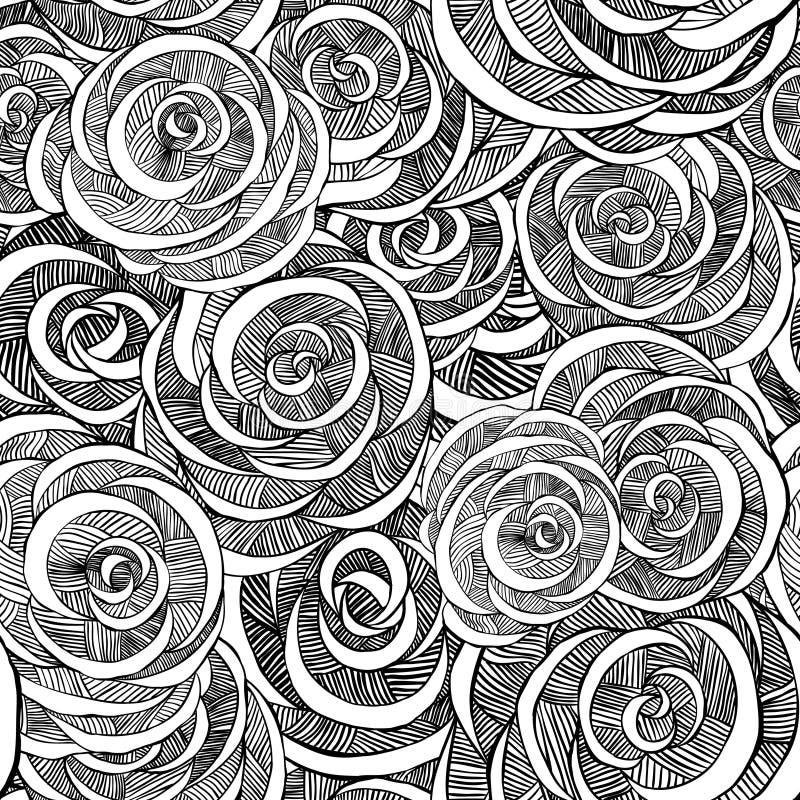 Reticolo della Rosa illustrazione di stock