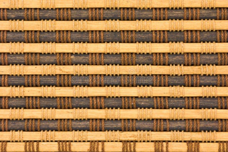 Reticolo della tenda di bambù immagini stock libere da diritti