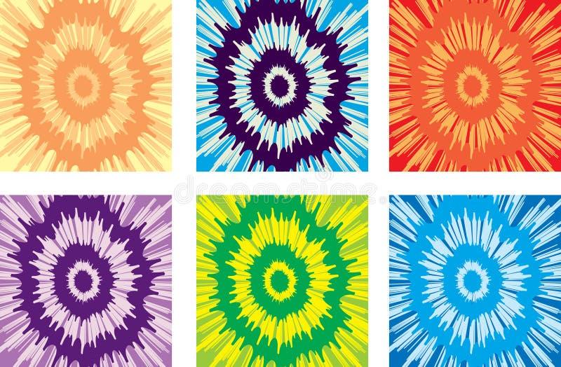 Reticolo della tintura del legame illustrazione vettoriale
