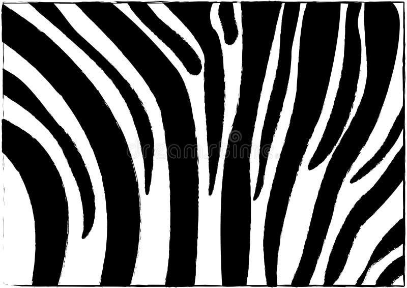 Reticolo della zebra illustrazione di stock
