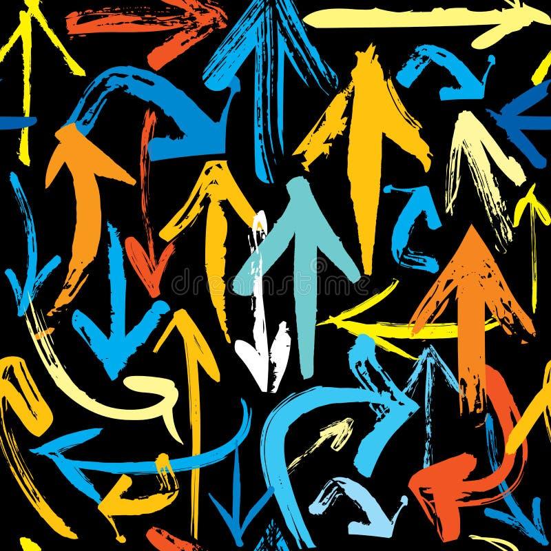 Reticolo delle frecce illustrazione di stock