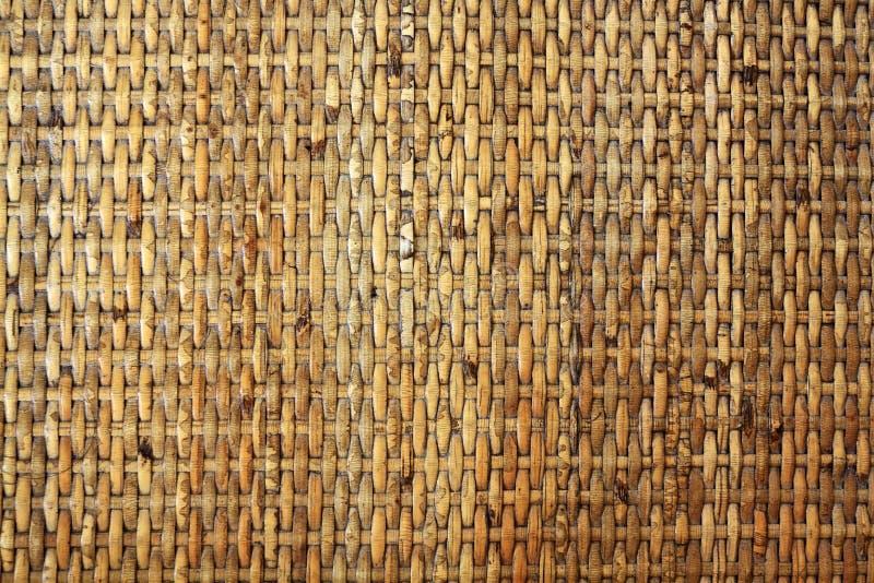 Reticolo di bambù tessuto immagini stock