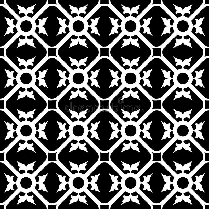 Reticolo di fiore simmetrico royalty illustrazione gratis