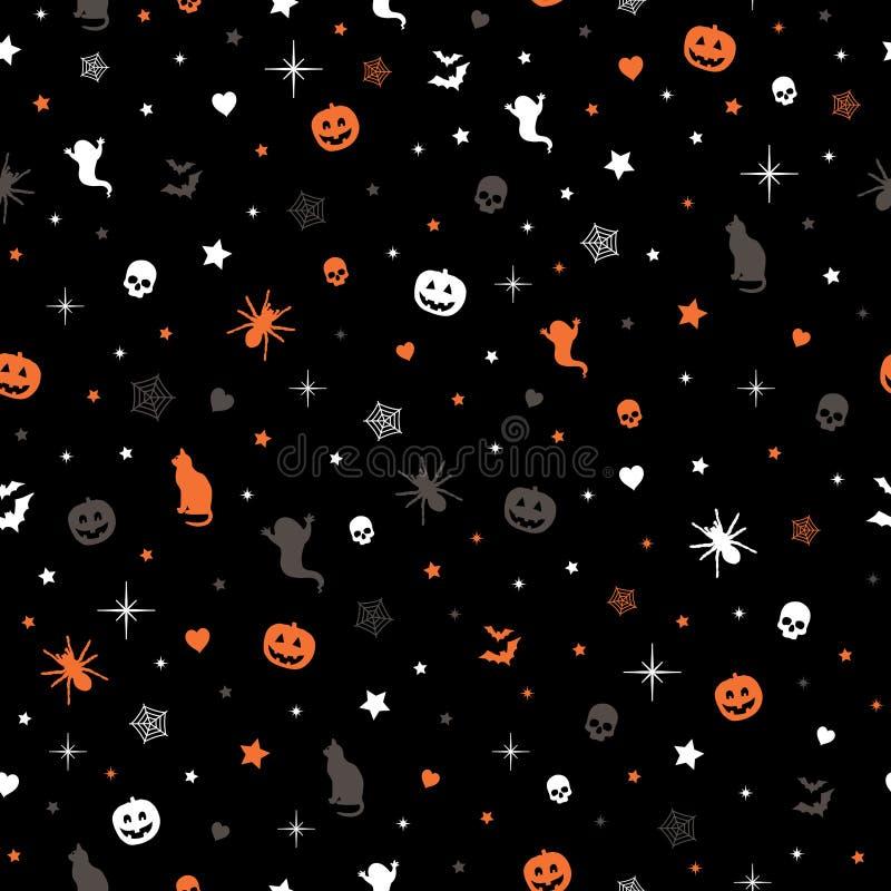 Reticolo di Halloween royalty illustrazione gratis