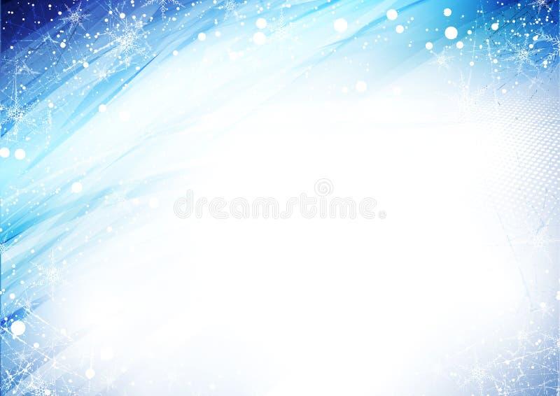 Reticolo di inverno illustrazione di stock