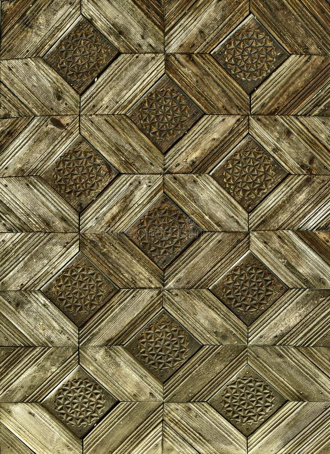 Reticolo di legno dell'annata fotografie stock libere da diritti