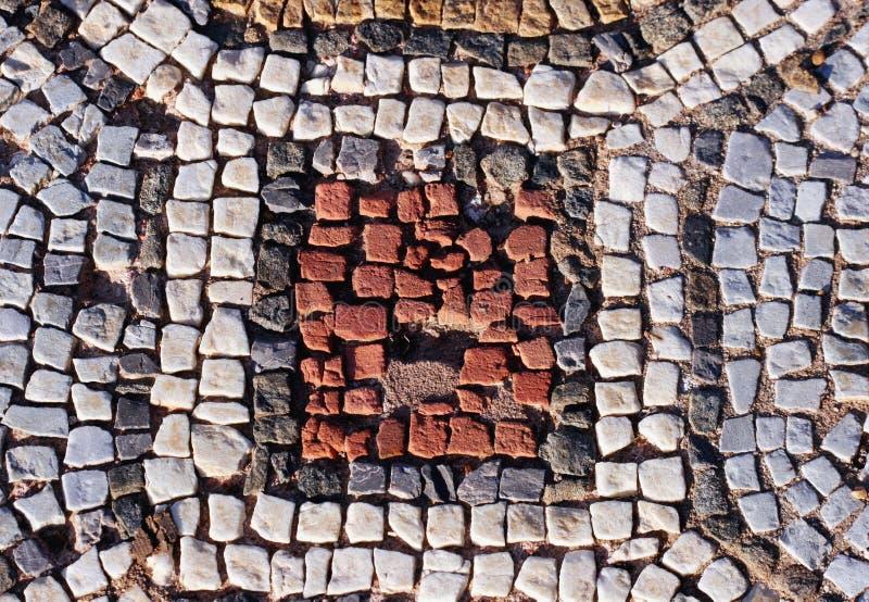 Reticolo di mosaico antico - fotografie stock libere da diritti