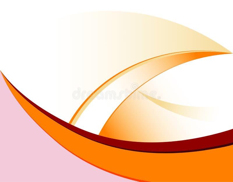Reticolo di onda illustrazione di stock