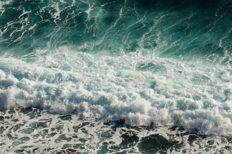 Reticolo di onda del mare immagini stock libere da diritti