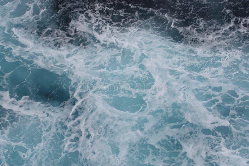 Reticolo di onda del mare dell'oceano immagini stock libere da diritti