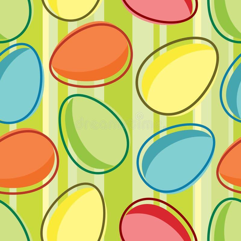 Reticolo di Pasqua illustrazione di stock