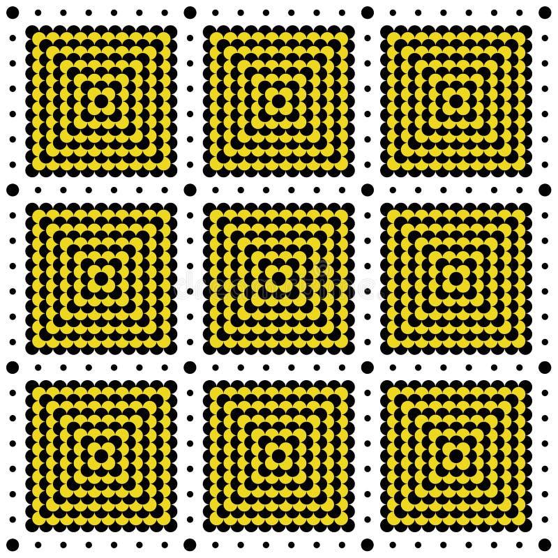 Reticolo di puntini di Polka illustrazione vettoriale