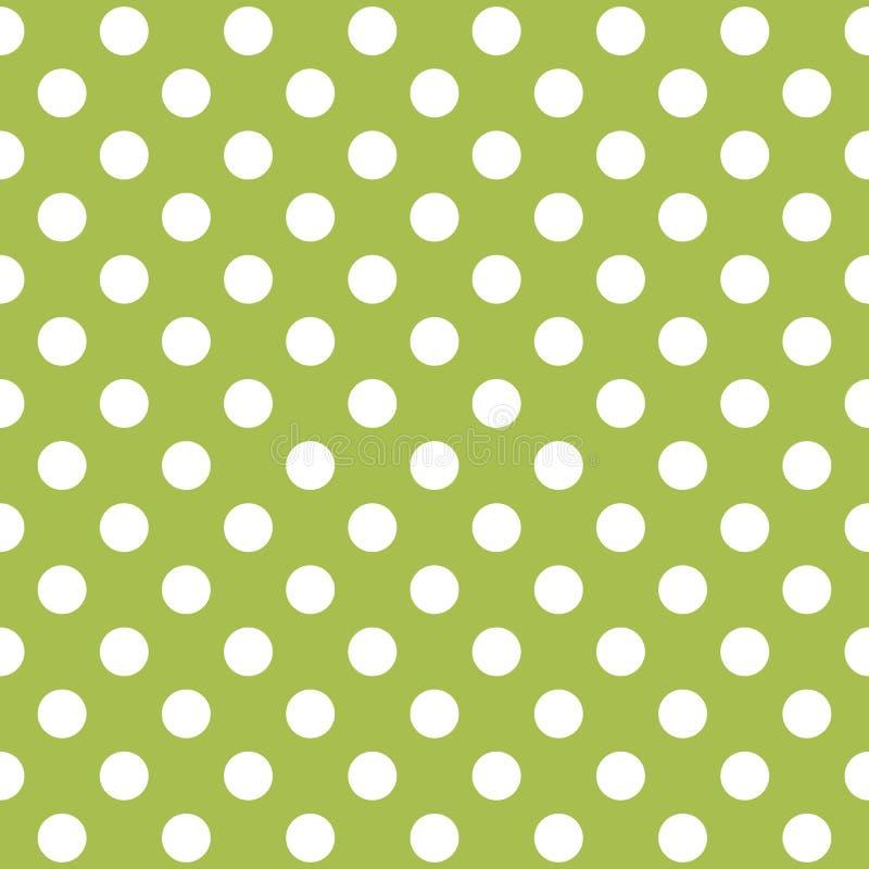 Reticolo di puntino senza giunte di Polka Struttura variopinta di Pasqua royalty illustrazione gratis
