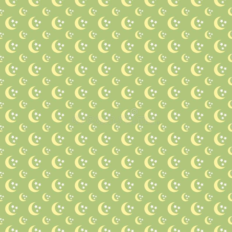 Reticolo di stelle Reticolo senza giunte illustrazione di stock