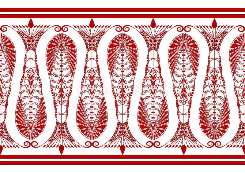 Reticolo eccellente del Claret royalty illustrazione gratis