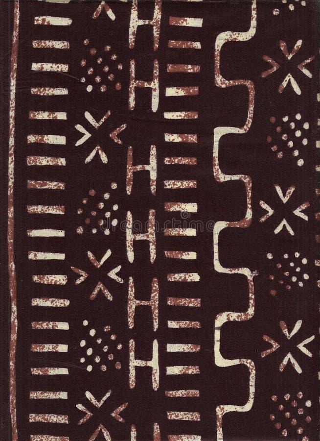 Reticolo etnico africano. illustrazione di stock