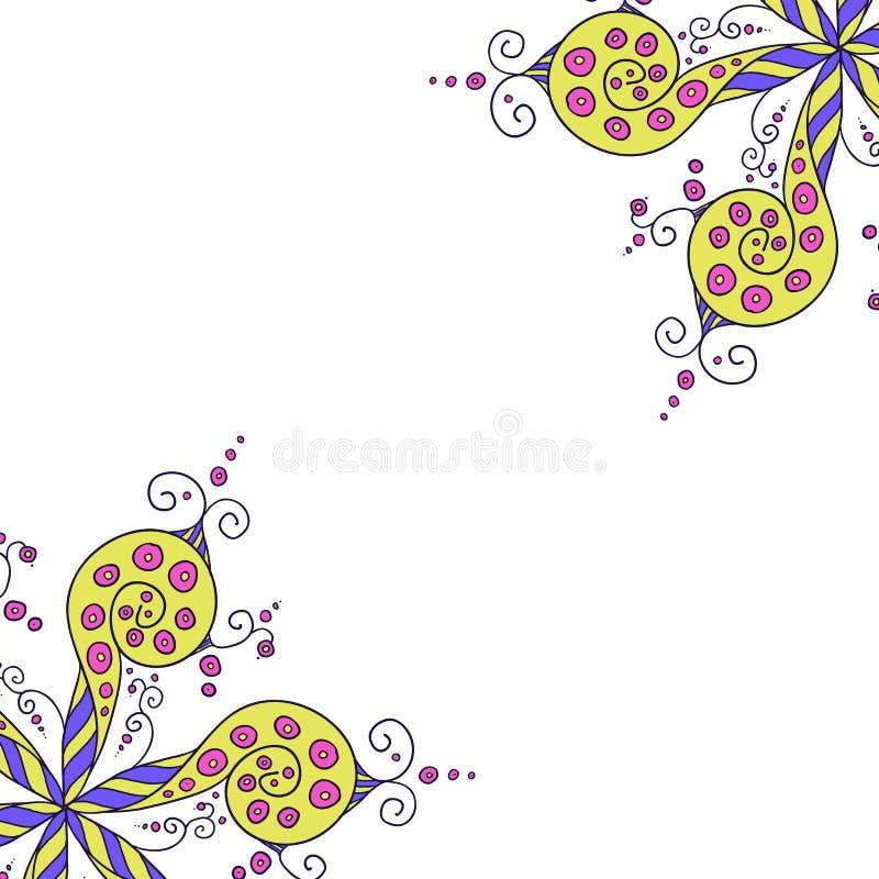 Reticolo floreale caleidoscopico royalty illustrazione gratis