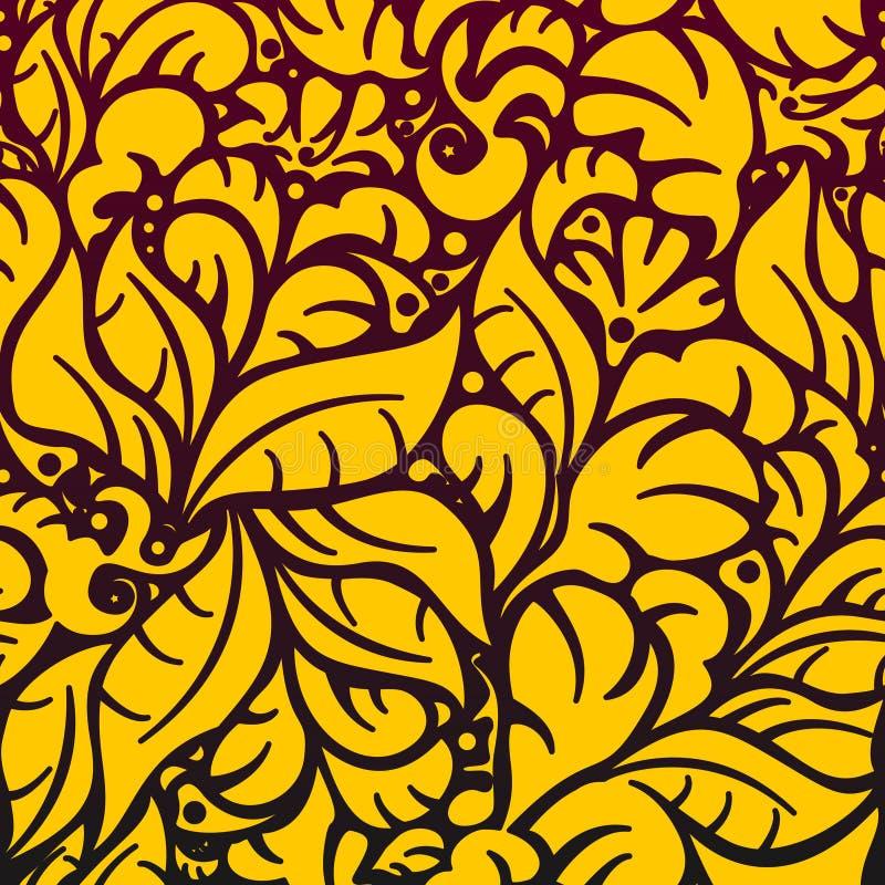 Reticolo floreale senza giunte 5.1 (3).jpg royalty illustrazione gratis
