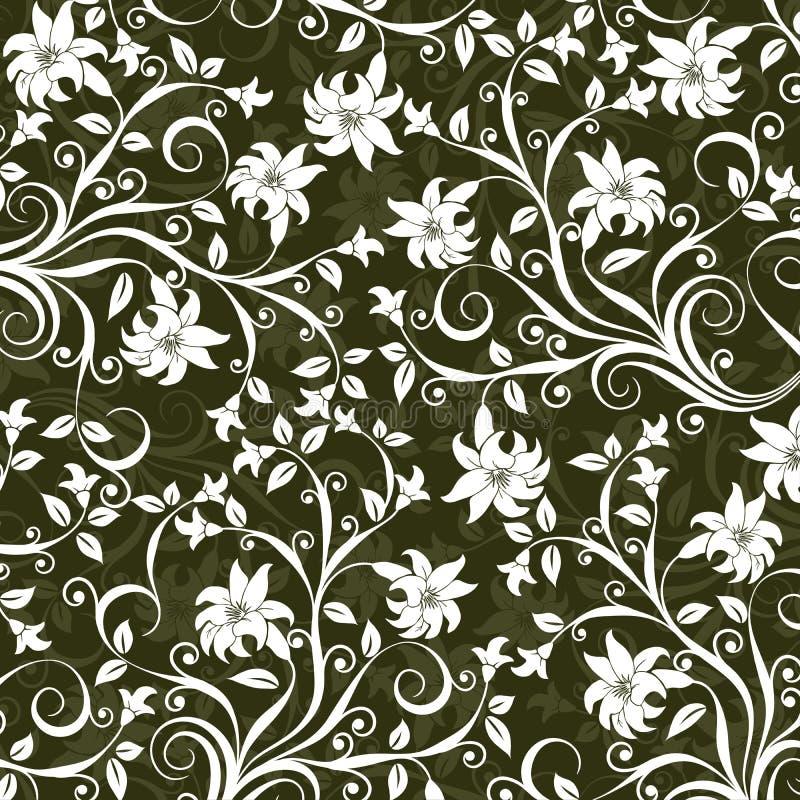 Reticolo floreale, vettore royalty illustrazione gratis