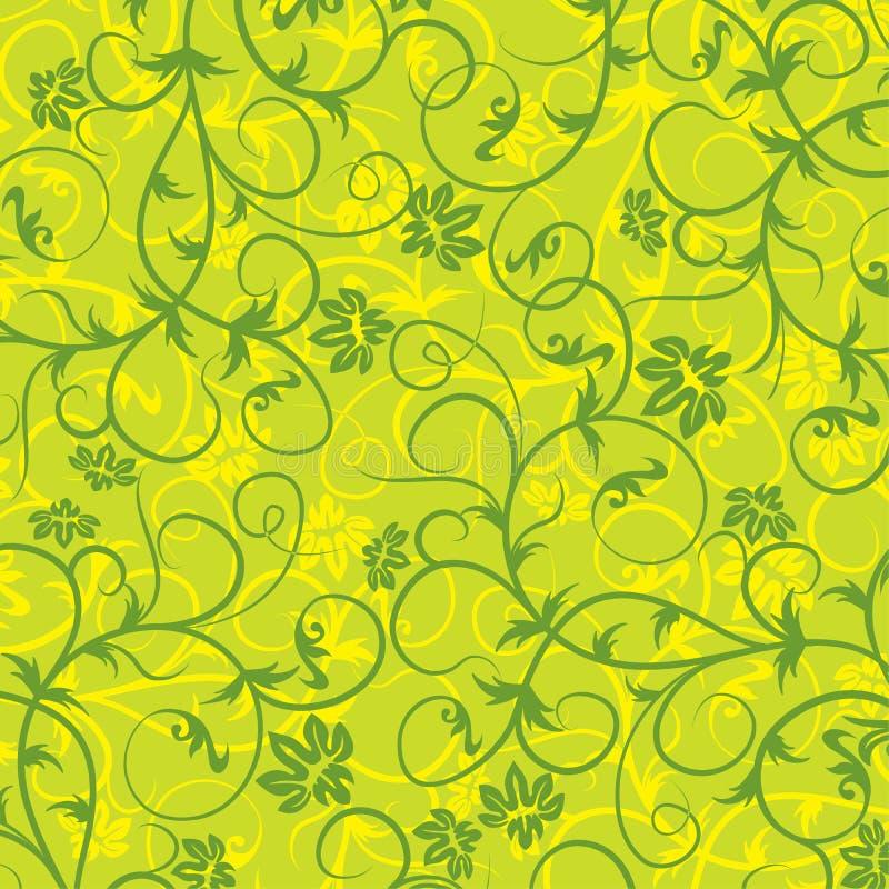 Reticolo floreale, vettore illustrazione di stock