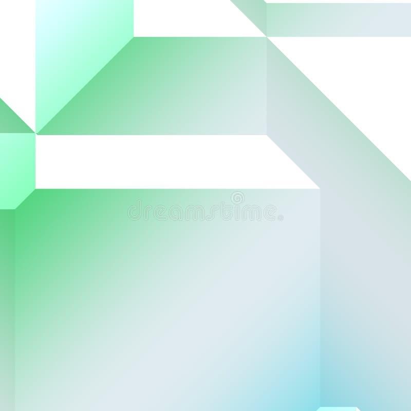 Download Reticolo geometrico 3d illustrazione di stock. Illustrazione di angled - 7323102