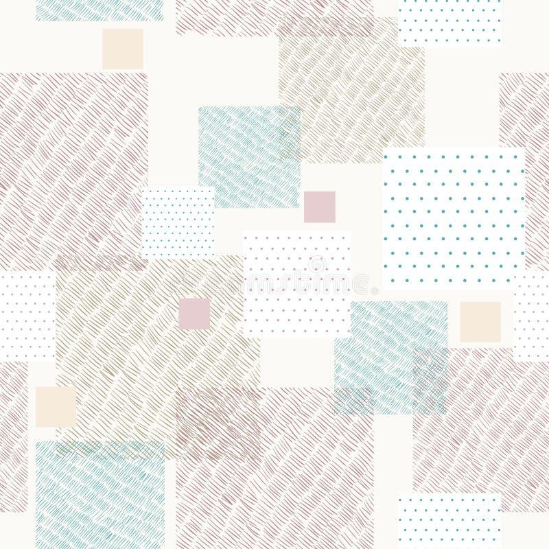 Reticolo geometrico illustrazione di stock