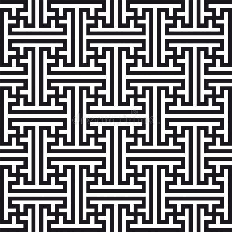 Reticolo Geometrico Cinese Fotografia Stock