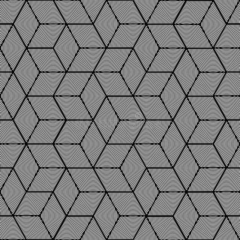 Reticolo geometrico - disegno grafico senza cuciture royalty illustrazione gratis
