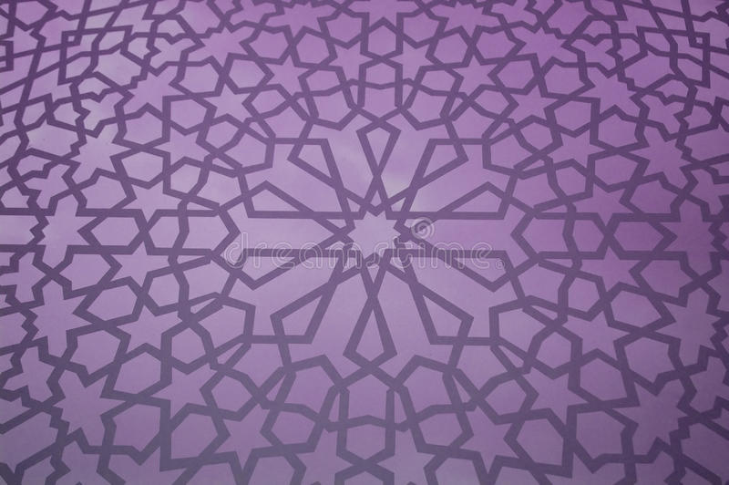 Reticolo geometrico islamico illustrazione vettoriale