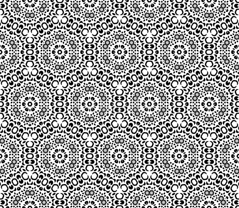 Reticolo geometrico senza giunte royalty illustrazione gratis