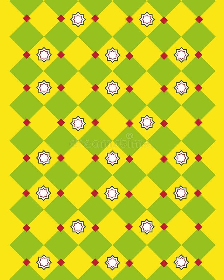 Reticolo giallo astratto fotografie stock