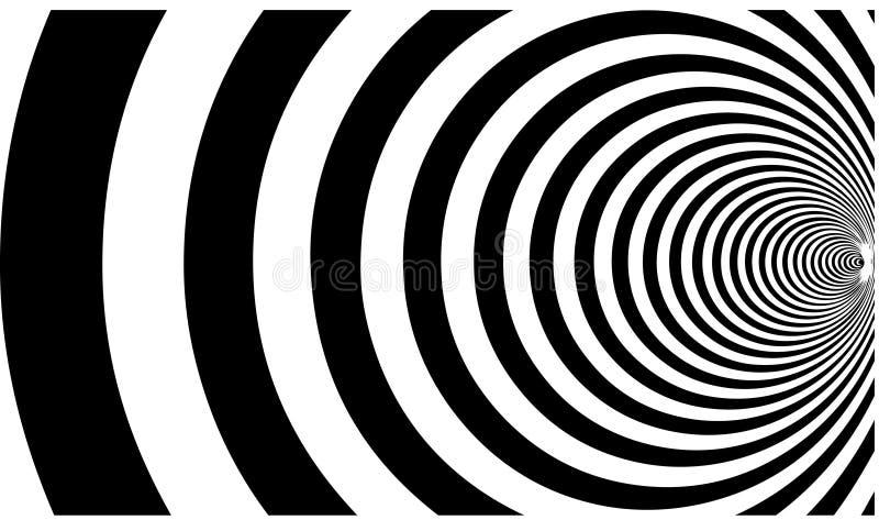 Reticolo ipnotico royalty illustrazione gratis