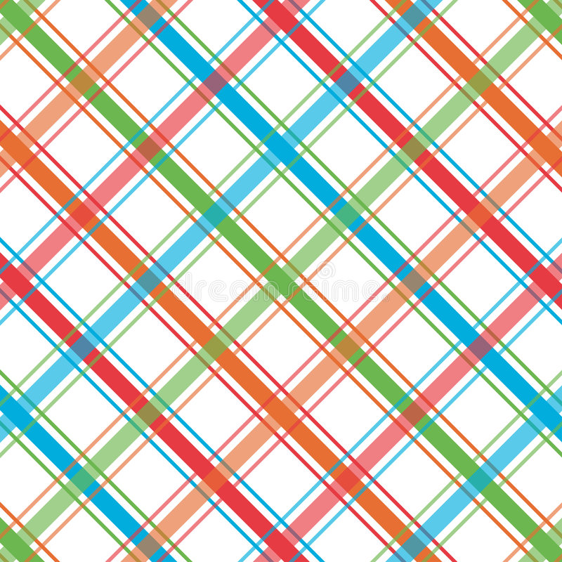 Reticolo luminoso del plaid illustrazione di stock