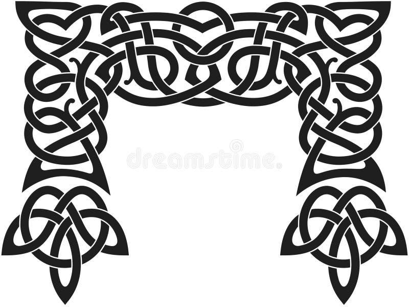 Reticolo nordico illustrazione vettoriale