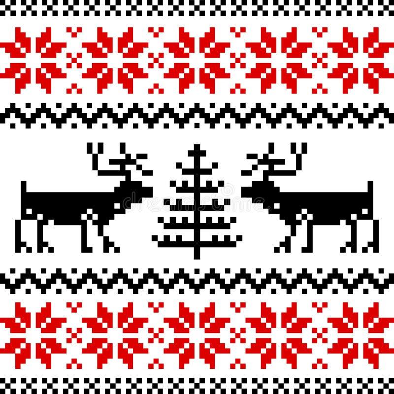 Reticolo nordico royalty illustrazione gratis