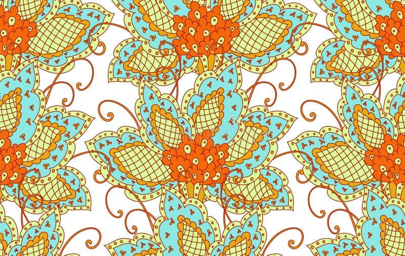 Reticolo persiano floreale royalty illustrazione gratis