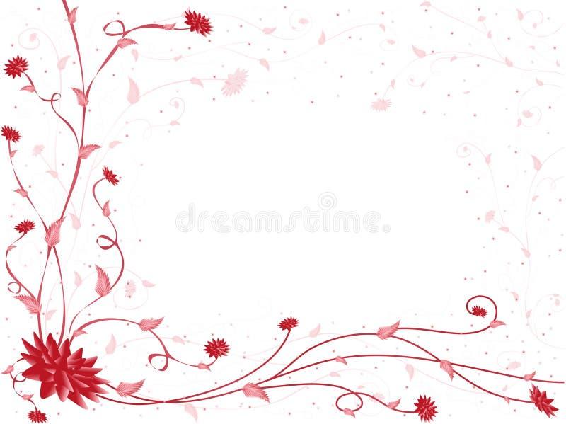 reticolo Rosso-bianco fotografia stock