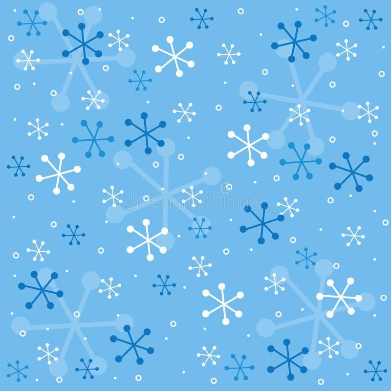 Reticolo semless di inverno illustrazione di stock