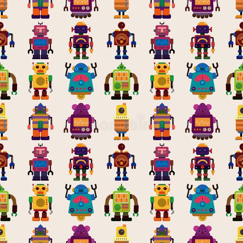 Reticolo Senza Cuciture Del Robot Fotografia Stock