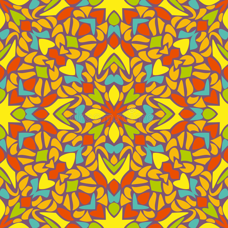 Download Reticolo Senza Giunte Astratto Illustrazione Vettoriale - Illustrazione di decorativo, riga: 7306419