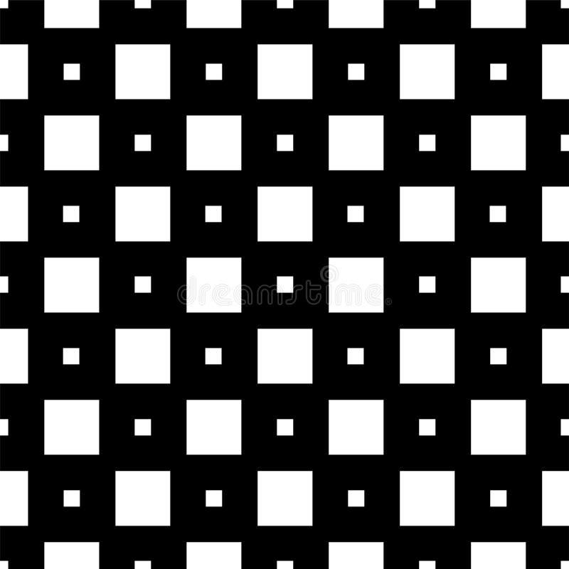 Reticolo senza giunte con i quadrati Immagine semplice geometrica royalty illustrazione gratis