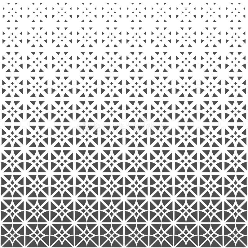 Reticolo senza giunte dei triangoli Carta da parati geometrica royalty illustrazione gratis