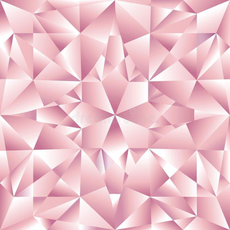 Reticolo senza giunte del diamante illustrazione di stock