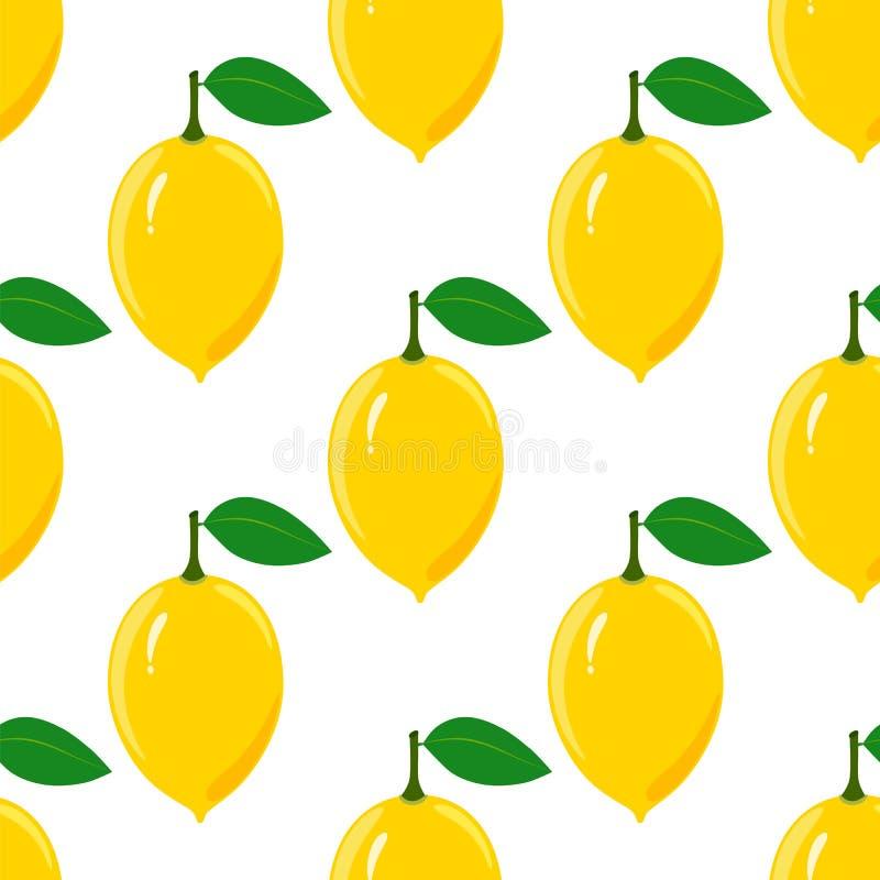 Reticolo senza giunte del limone illustrazione vettoriale