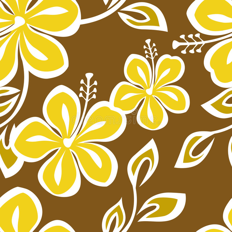 Reticolo senza giunte della Polinesia illustrazione di stock