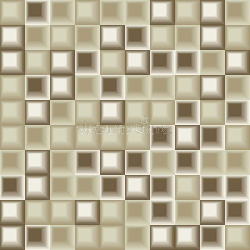 Reticolo senza giunte delle mattonelle illustrazione vettoriale