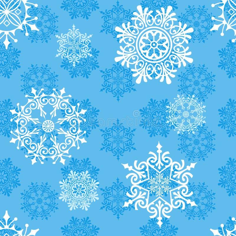 Reticolo senza giunte di inverno illustrazione vettoriale