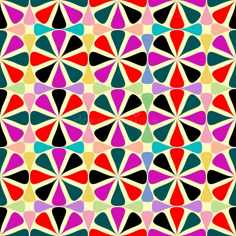 Reticolo senza giunte geometrico illustrazione vettoriale
